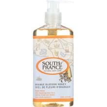 Hand Wash Liquid Orange Blossom Honey 8 OZ By South Of France