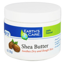 Earth's Care Shea Butter 100% Pure & Natural 6 oz