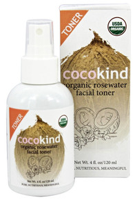 Organic Rosewater Facial Toner 120 ML By Cocokind