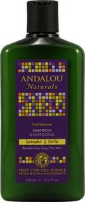 Lavender Biotin Volume Shampoo 11.5 oz  From Andalou Naturals