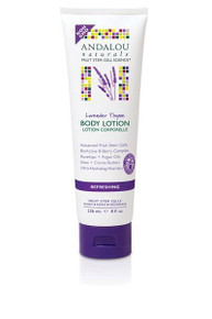 Body Lotion Refreshing Lavender Thyme 8 OZ From ANDALOU NATURALS