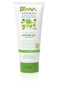 Shower Gel Uplifting Citrus Verbena 8.5 OZ From ANDALOU NATURALS