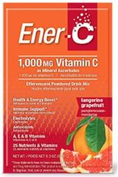 Ener-C Tangerine Grapefruit 100mg 30 Packets