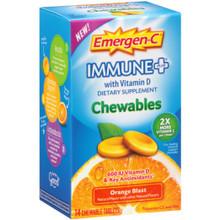 Emer'gen-C Immune + Orange Chewables 14 TAB By Alacer