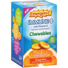 Emer'gen-C Immune + Orange Chewables 42 TAB By Alacer
