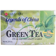 Legends of China Green Tea Organic 5.64 oz (160 g) 100 Tea Bags From Uncle Lee's Tea