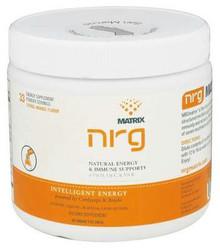 NRG Matrix  Natural Energy & Immune Support Powder Drink Citrus-Orange  7 oz.