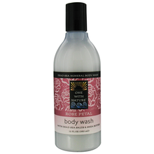 Rose Petal Body Wash 12 oz  From One With Nature