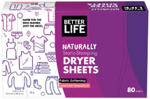 Dryer Sheet Grapefruit Lavender 80 CT By Better Life