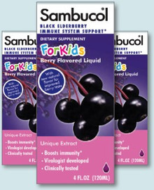 Elderberry Kids 4 oz Form Sambucol