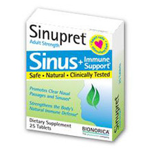 Sinupret Adult Strength 50 Tablets Bionorica