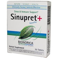 Sinupret + 25 Tablets From Bionorica