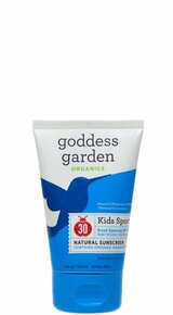 Kids Sport Natural Sunscreen Tube SPF30 3.4 OZ By Goddess Garden