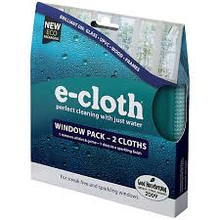 E-Cloth Window Cleaning Cloth 2 Pack