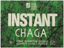 Instant Chaga On-The-Go Mushroom Beverage Bags 20 CT From FOUR SIGMA FOODS  INC