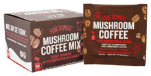 Mushroom Coffee Instant with Chaga & Cordyceps 10 CT By Four Sigma Foods  Inc