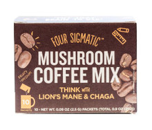 Mushroom Coffee Instant with Lion Mane 10 CT By Four Sigma Foods  Inc