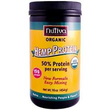 Hemp Protein 15g Protein, 16 OZ, Nutiva