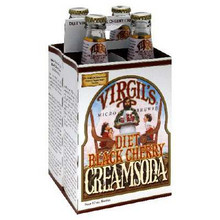 Black Cherry Cream Soda, 24 of  12 OZ, Virgil'S