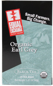 Black, Earl Grey, 6 of 20 BAG, Equal Exchange