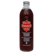 Cherry Cassis, 12 of 14 OZ, Kombucha Wonder Drink