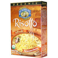 Organic Alfredo & Parmesan Cheese Risotto  From Lungberg