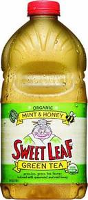 Mint & Honey Green, 8 of 64 OZ, Sweet Leaf Tea