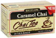 Caramel Chai, 6 of 20 BAG, Bigelow