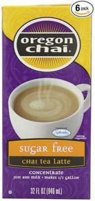 Original, Sugar Free, 6 of 32 OZ, Oregon Chai