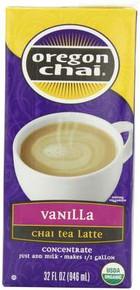 Chai, Vanilla, 6 of 32 OZ, Oregon Chai