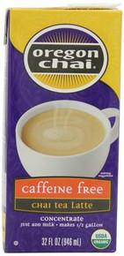 Original, Caffeine Free, 6 of 32 OZ, Oregon Chai