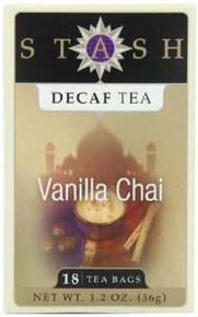 Vanilla Chai, Decaf, 6 of 18 BAG, Stash Tea