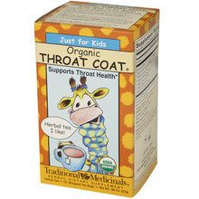 Organic Tea Throat Coat for Kids  From AFG