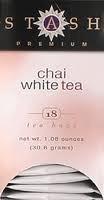 Premium White Chai , 6 of 18 BAG, Stash Tea