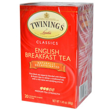Breakfast, English, Decaf, 6 of 20 BAG, Twinings