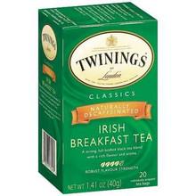 Breakfast, Irish, Decaf, 6 of 20 BAG, Twinings