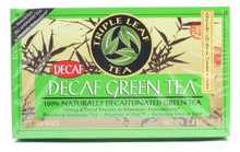 Decaf, 6 of 20 BAG, Triple Leaf Tea