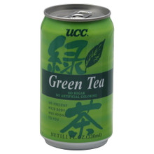 Green Tea In A Can, 24 of 11.1 OZ, Ucc