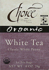 White, 6 of 16 BAG, Choice Organic Teas