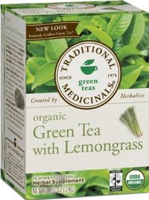 Green Tea With Lemongrass, 6 of 16 BAG, Traditional Medicinals