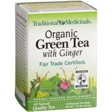 Green w/Ginger, 6 of 16 BAG, Traditional Medicinals