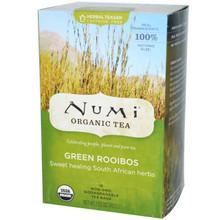 Green Rooibos, 6 of 18 BAG, Numi Tea