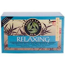 Relaxing Herbal, 6 of 20 BAG, Triple Leaf Tea