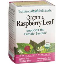 Raspberry Leaf, 6 of 16 BAG, Traditional Medicinals