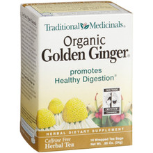 Ginger With Chamomile, 6 of 16 BAG, Traditional Medicinals