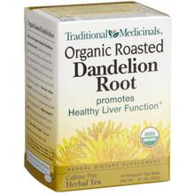 Roasted Dandelion Root, 6 of 16 BAG, Traditional Medicinals