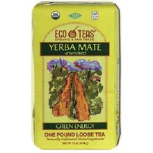Loose, Yerba Mate, Caffeinated, 6 of 1 LB, Eco Teas