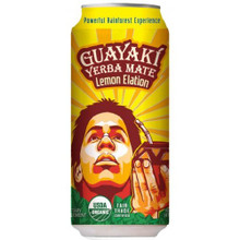 Lemon Elation FT, 12 of 16 OZ, Guayaki