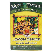 Lemon Ginger, 6 of 20 BAG, The Mate' Factor