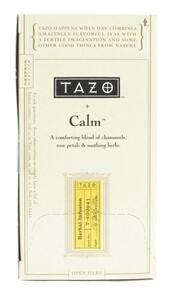 Calm Chamomile, 6 of 20 BAG, Tazo